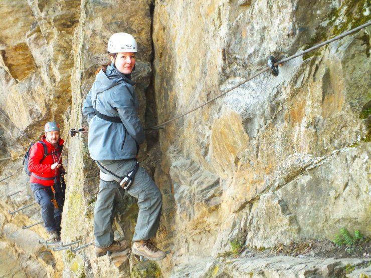 Klettersteig Rhein : Der mittelrhein klettersteig u natürchen